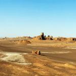 El desierto de Lut o Dasht-e Lut y sus Kaluts